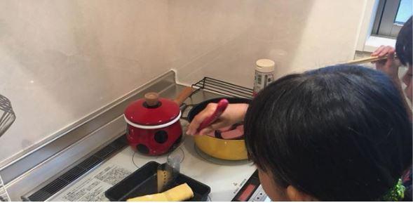 子供たち料理
