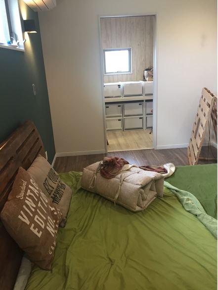 入居後寝室